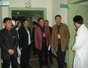 2007年12月3日,德阳市人大代表到我院视察并指导工作。