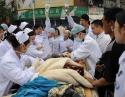 地震时救治极危重病人