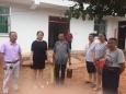 广汉市人民医院机关党支部到齐心村走访慰问