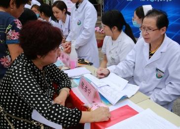 广汉市人民医院积极参加全国科普日主题义诊活动
