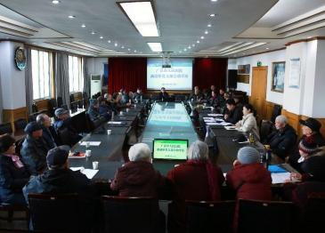 广汉市人民医院召开离退休党支部大会