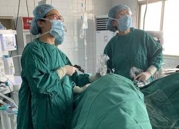 【新技术】广汉市人民医院开展广汉首例复发性卵巢癌腹腔镜二次肿瘤细胞减灭术