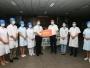 德阳市人大常委会主任卢也一行到亚美am8手机appios版下载人民医院开展医师节慰问、调研新冠肺炎疫情防控工作