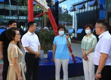 德阳市副市长何苹调研广汉市人民医院新建项目建设推进情况
