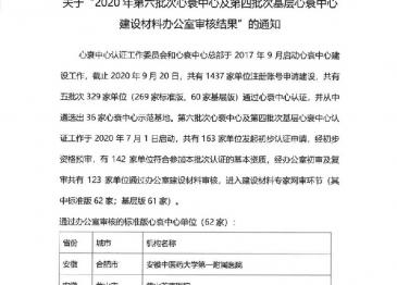 广汉市人民医院心衰中心通过建设材料审核